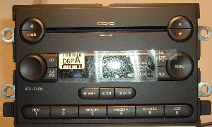 Factory Ford AM/FM/6 disk