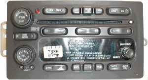 AM/FM/CD GM TRUCK 95-02